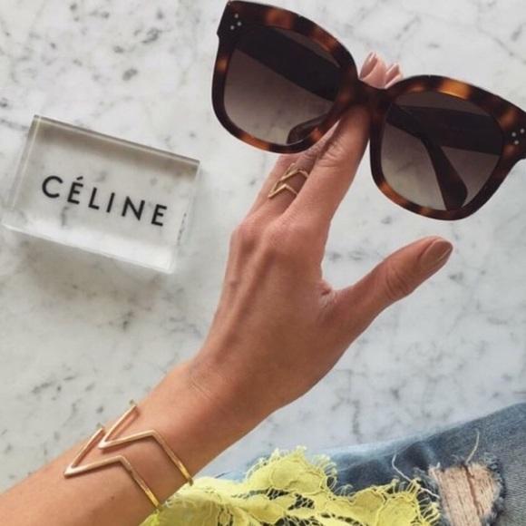 f6e0c6285f27 Authentic Celine Oversized Audrey Sunglasses 😎